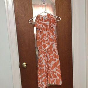 Ann Taylor Loft silk sun dress